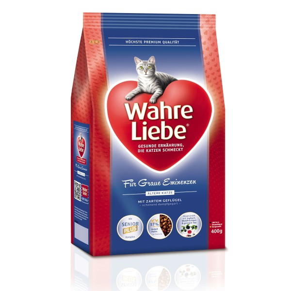 wahre liebe katzenfutter hauskatze 1er pack 1 x 400 g packung prima. Black Bedroom Furniture Sets. Home Design Ideas