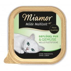 Miamor Milde Mahlzeit Geflügel Pur & Gemüse