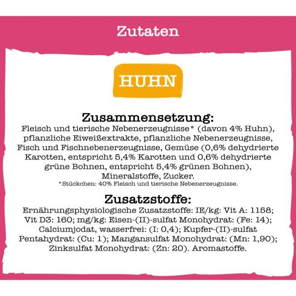 PURINA BENEFUL Schleckermäulchen mitköstlichem Huhn & leckerem Rind
