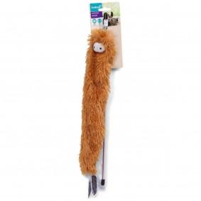ZooRoyal Katzenangel Knisterfussel mit Glökchen