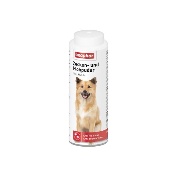 beaphar Zecken und Flohpuder für Hunde 100g