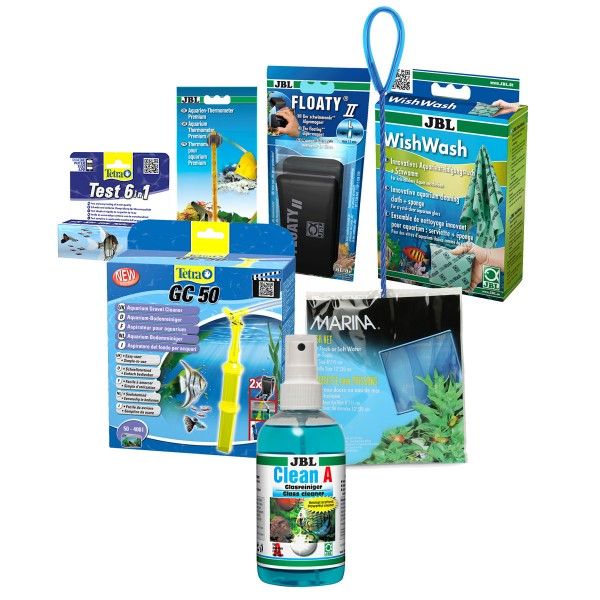 zubeh r starter set f r aquarien bis ca 400 liter bei zooroyal. Black Bedroom Furniture Sets. Home Design Ideas