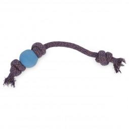 Beco Pets Hundeball Beco Ball mit Seil Blau