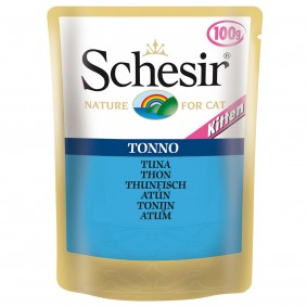 Schesir Cat Kitten Thunfisch in Jelly