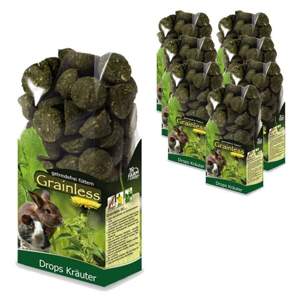 JR Farm Grainless Drops Kräuter 8x140g