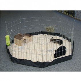 Kerbl Nylonboden für Freigehege, 8 Gitter