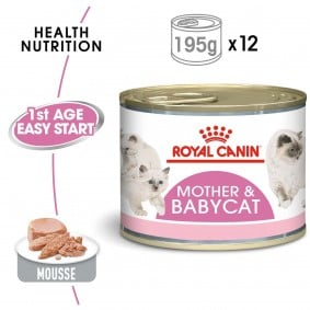Royal Canin Babycat Instinctive, 12 x 195 g