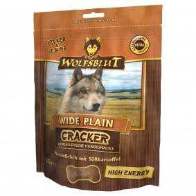 Wolfsblut Cracker Wide Plain High Energy, koňské maso