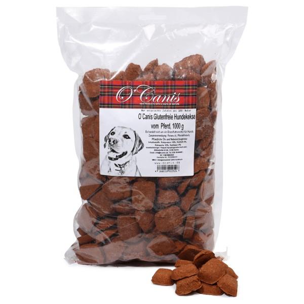 O'Canis Hundekekse Pferd und Reis 1kg