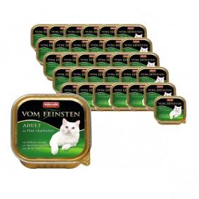 Haidemühl Angebote Animonda Vom Feinsten Katzenfutter Adult 64x100g - Pute und Kaninchen
