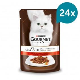 Gourmet A la Carte Rind an erlesenem Sommergemüse