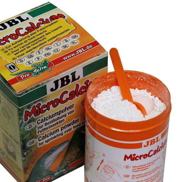 JBL MicroCalcium - Pulver zur Bestäubung von Futterinsekten 100g