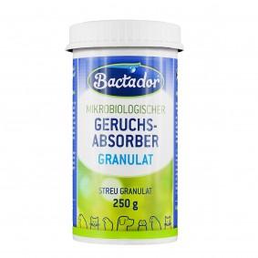 Bactador Geruchs-, Flecken- und Flüssigkeitsentferner Streugranulat 250 g