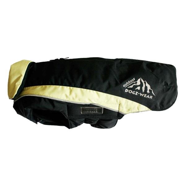 Wolters Skijacke Dogz Wear mit wasserdichtem RV in schwarz und lime