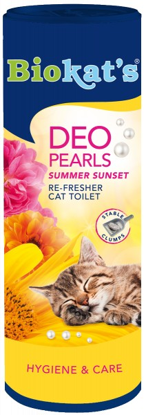 Biokat's Deo Pearls Summer Sunset 700g
