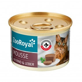 ZooRoyal Mousse mit Rind und Leber