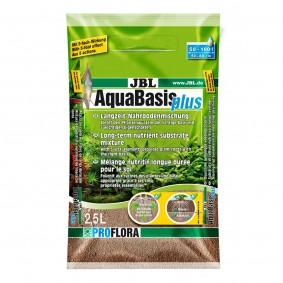 JBL AquaBasis Plus Substrat de sol enrichi en nutriments 2,5 l