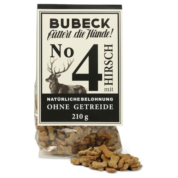 Bubeck Hundesnack No.4 Hirsch 210g
