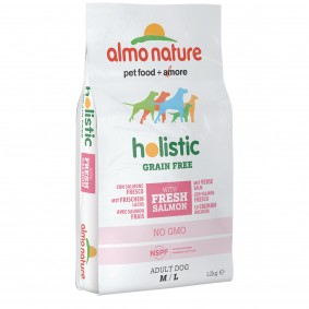 Almo Nature Holistic Grain Free Medium/Large Dogs s lososem a bramborami
