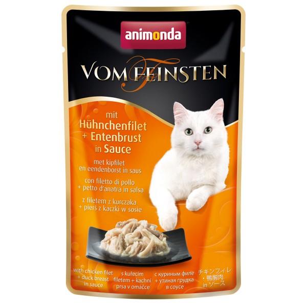 Animonda Vom Feinsten mit Hühnchenfilet & Entenbrust in Sauce