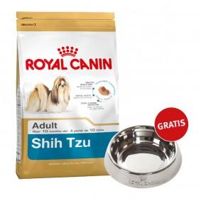 Royal Canin Shih Tzu 24 Adult 1,5kg + Edelstahlnapf silber gratis