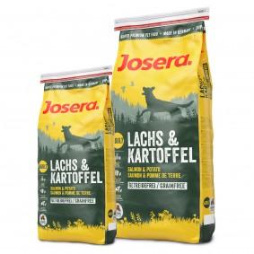Josera Hundefutter Lachs und Kartoffel 4kg plus 1,5kg gratis