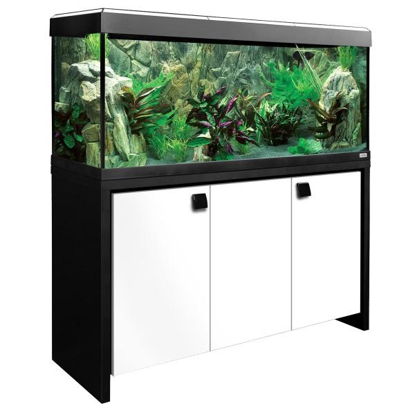 Fluval Aquarium Roma 240 Kombination - schwarz/...