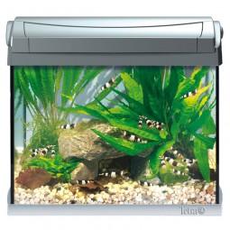Tetra aquaart led aquarium komplettset anthrazit for Aquarium komplettset