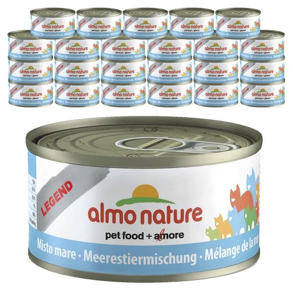 Almo Nature Legend Katzenfutter 24x70gMeerestier-Mischung