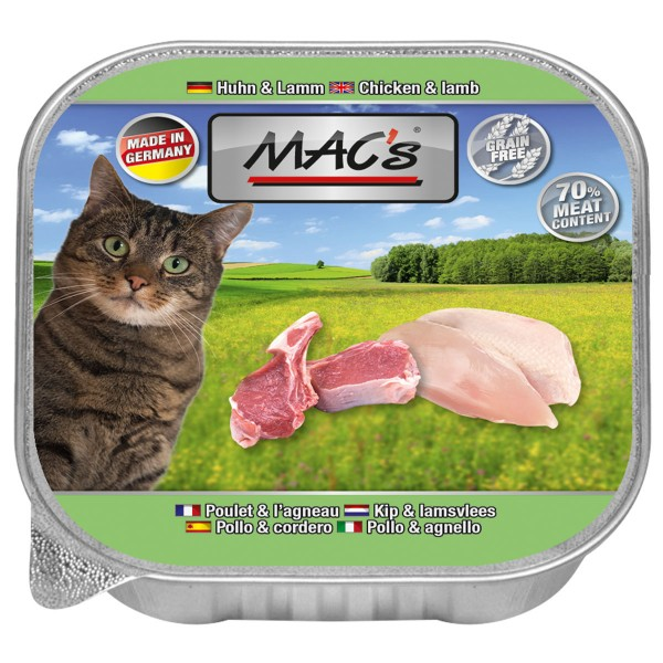Macs Cat Huhn & Lamm - 85g