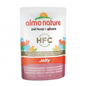 Almo Nature HFC in Jelly pouch Thunfisch und Garnelen - 24x55g