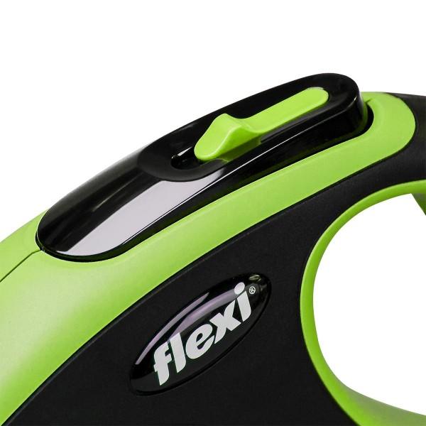 flexi New Comfort Seilleine grün 8m M