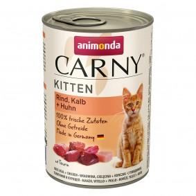 Animonda Carny Kitten s telecím a kuřecím masem