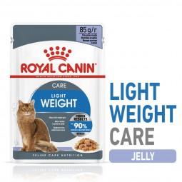 ROYAL CANIN ULTRA LIGHT in Gelee Nassfutter für zu Übergewicht neigenden Katzen