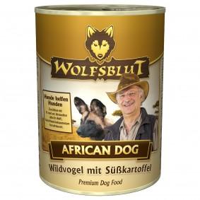 Wolfsblut African Dog Adult mit Wildvogel