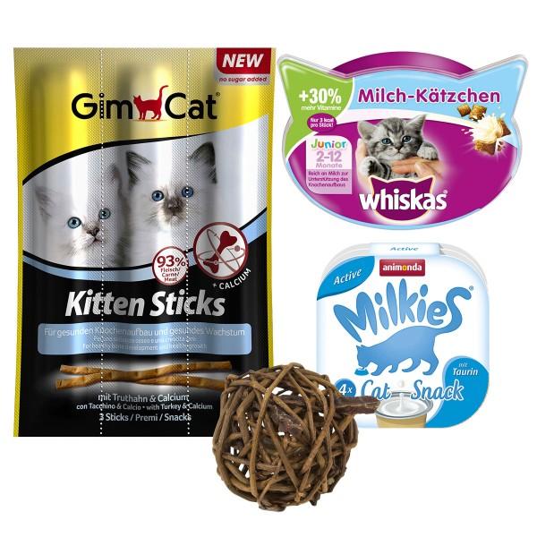 Gimcat Snackpaket Junge Katzen