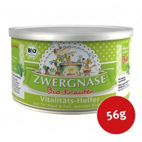 Zwergnase Ergänzungsfutter Bio Vitalitäts-Helfer 56g
