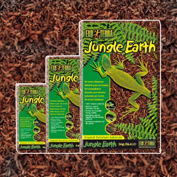Exo Terra Jungle Earth Terrarium Bodengrund