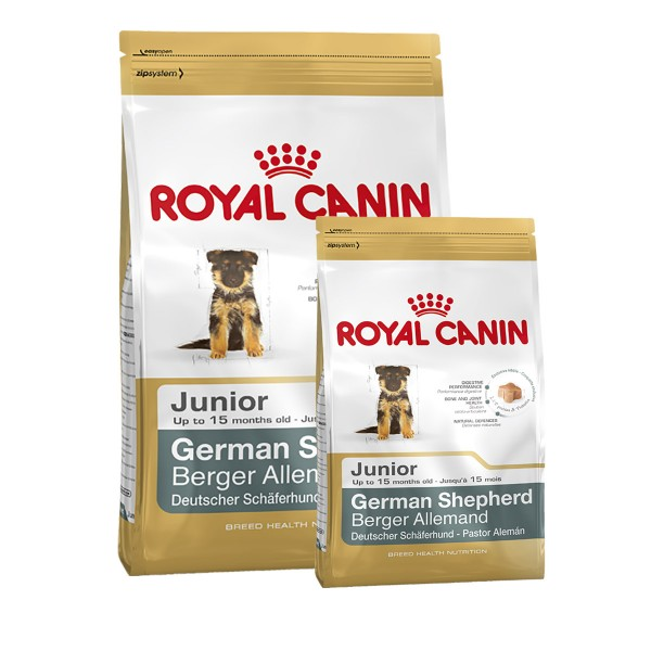 Royal Canin German Shepherd Junior 12kg+3kg Gra...