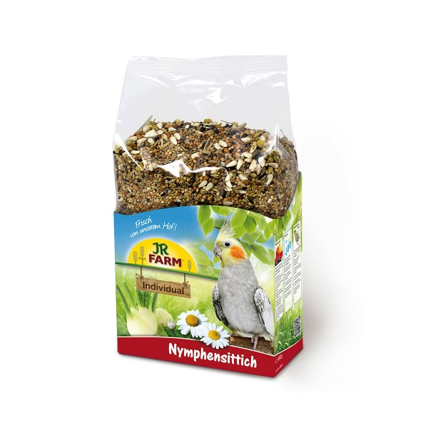 JR FARM Individual für Nymphensittiche 1kg