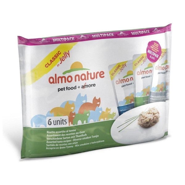 Almo Nature HFC Jelly Multi Pack 3x Sorten mit Thunfisch