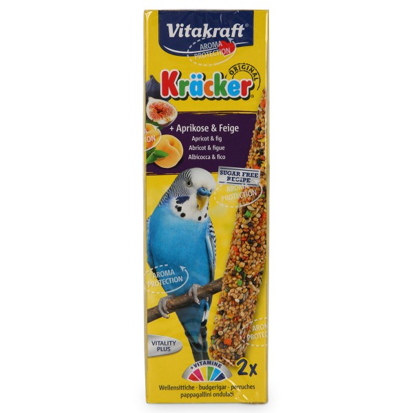 Vitakraft Kräcker mit Aprikose und Feige 2er Sittich