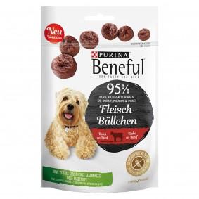 BENEFUL Fleisch-Bällchen Hundesnack Beutel