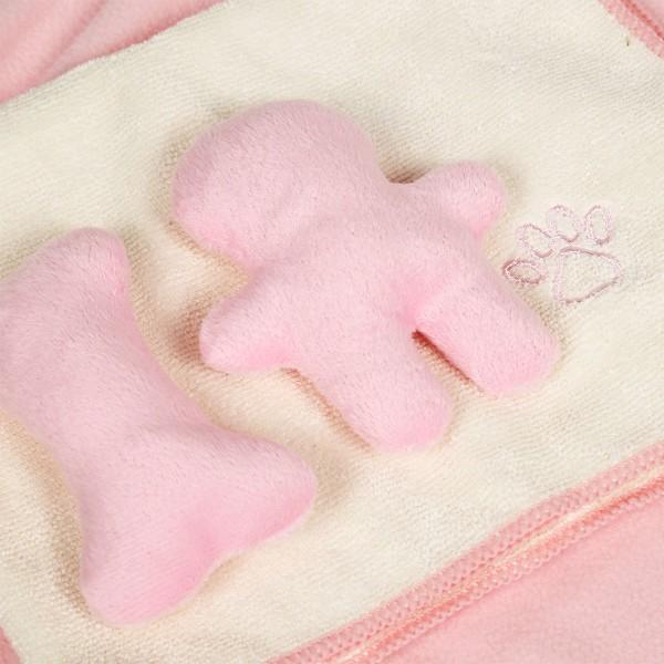 Trixie sada pro štěňata – deka, hračka a ručník, růžová