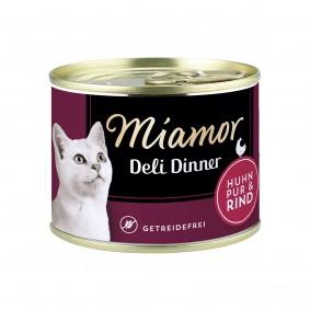 Miamor Deli Dinner Huhn Pur und Rind