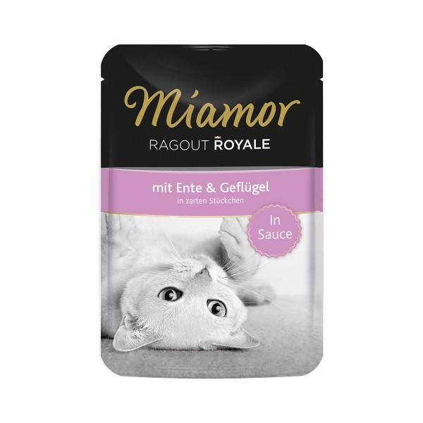 Miamor Ragout Royale in Sauce Ente und Geflügel