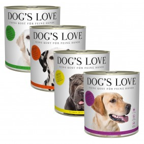 Dog's Love 24x800g Mixpaket