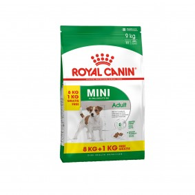 ROYAL CANIN MINI Adult 8kg + 1kg gratis