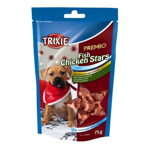 Trixie Premio Fish Chicken Stars 75g