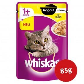Whiskas Katzenfutter Adult 1+ Ragout mit Huhn in Gelee